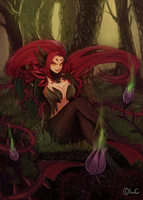 [league of legends] Zyra by Kyribee