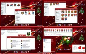 SkinPack My Christmas! Win8 by alexgal23