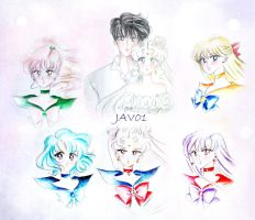 pretty guardian sailor moon by zelldinchit