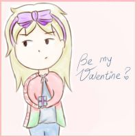 Be my Valentine? *APH-Belarus* by MischievousRibbon