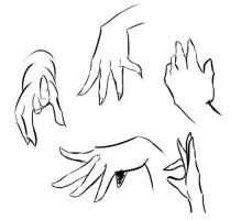 Hand practice by WatchTehTail