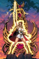She-Ra, Most Powerful Woman In The Universe. by Axel-Gimenez