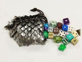 Scale Dice Bag by DracoLoricatus
