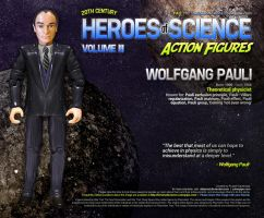 Heroes of Science: Wolfgang Pauli by datazoid