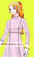 Nami In Conservative Clothes by BelleLoveZoro