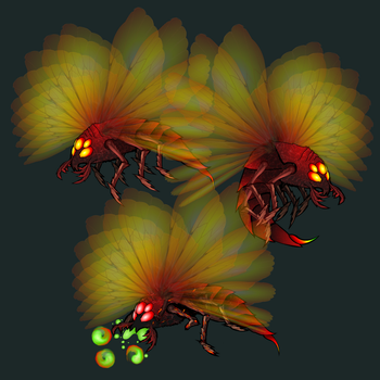 Wasp Mini Boss by Of-the-Northwind