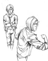 Character Study Sketch2 by matches23