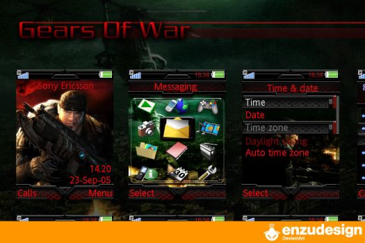 Gears Of War by EnzuDes1gn