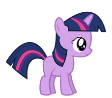 Twilight Filly by Serenawyr