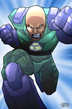 Lex Luthor by johnnymorbius