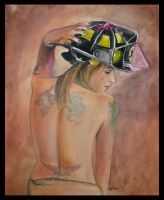 Fireman Jeannie by catbones
