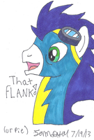 Soarin THAT FLANK or pie by lcponymerch