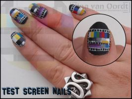 Test screen nails by Ninails