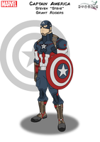 Captain America by PhoenixStudios91
