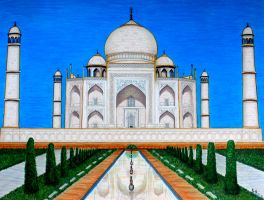 TAj Mahal - completed by MayFong