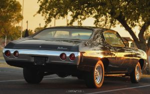 Sunset Chevelle by joerayphoto