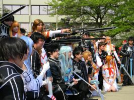 Raise Your Sword - ACen 2013 by EndOfGreatness