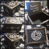 Supernatural inspired Curse Box by MonteyRoo