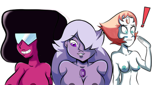 We Are The Crystal Gems (Colored) by SatoshiTakeo