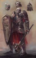 Dietrich Von Raeland the Wight Knight by artofrussell