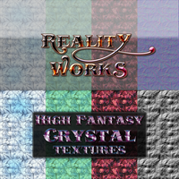 Reality Works High Fantasy Crystal Textures by Solace-Grace
