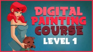Digital Painting Cartoons Course Level 1 by ToonBoxStudio
