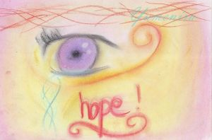 the eye of hope by Yumenira