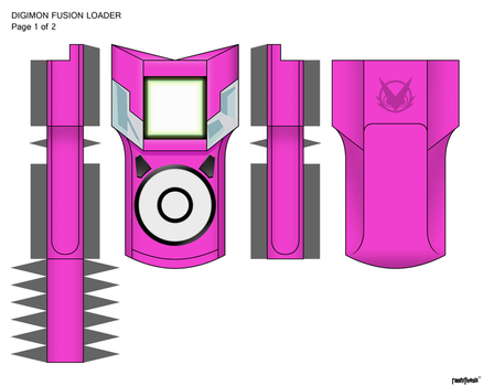 Hot Pink Xros Fusion Lobby Color by randyfivesix