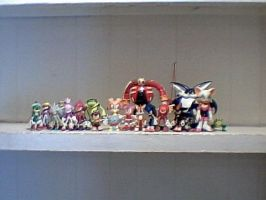 Sonic characters toys by MollyKetty