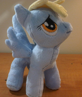 Derpy Hooves Plushy by caashley