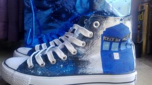 Tardis shoes! (Italy-USA) 2 by LadyFabcurly