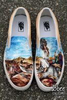 David and Goliath Shoes by BBEEshoes