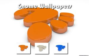 Gnome Wallpaper Pack by VickyM72