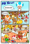 The Christmas Gift Pg. 1 by MKDrawings