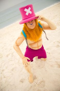 Tony Tony Chopper - Human Form by negativedreamer