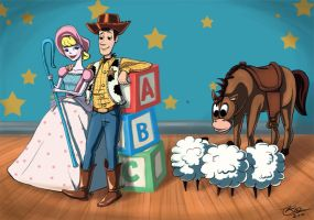 Toy Story Fanart by by-anca