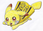 Steelers Pikachu Commission by Sarilain