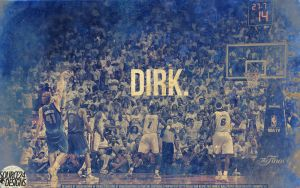 Dirk Nowitzki Mavericks Wallpaper by IshaanMishra