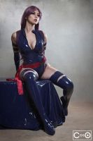 Margie Cox as Psylocke by moshunman