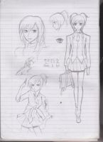 Noblesse OC doodle 1 by Rona67