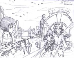 Love over London Chaos by PanzerElites