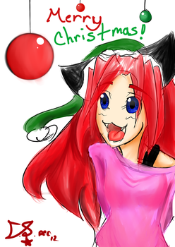 Merry Christmas!!! by VicetheWolf