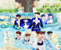 [Pypy's request] Wang JunKai - Luhan by Trinhbyun