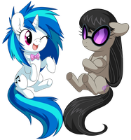 Vinyl and Octavia by miikanism