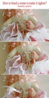 How to bond a corset to make it tighter? by AyuAna