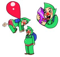 Tingle by LittleGreenHat