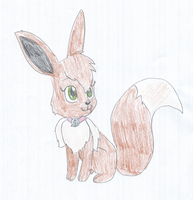 Atomic Betty OC - Avie the Eevee by KendraTheShinyEevee
