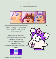 give me a treat - f2u no core tattletail code by fvntime