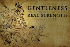 Gentleness and Strength by Khorin