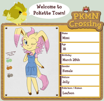 PKMNC App- Mimi by Princess-Hanners